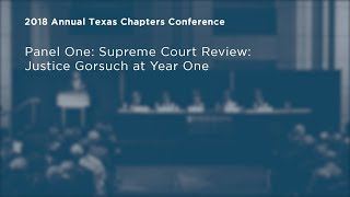 Click to play: Supreme Court Review: Justice Gorsuch at Year One