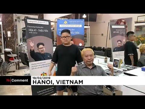 العرب اليوم - شاهد: قمّة أميركية ـ كورية شمالية تنعقد داخل صالون حلاقة في فيتنام