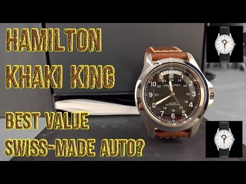Hamilton Khaki King - BEST VALUE SWISS-MADE AUTO?  [ Should I Time This ] Mp3