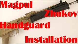 zhukov handguard install - मुफ्त ऑनलाइन