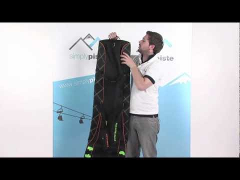 Head Pro Wheeled Double Skibag – Black – www.simplypiste.com