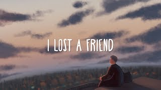 FINNEAS ~ I Lost A Friend (Lyrics)