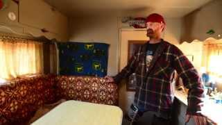 Man On Disability Lives On $600 A Month In His Custom Tiny Home on Wheels