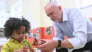 BBC shows Corbyn playing with a Russian doll