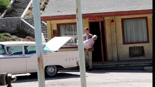 #1145 Unsettling Moment At The PSYCHO Bates Motel  UNIVERSAL BACKLOT STUDIO TOUR - Travel (9/25/19)