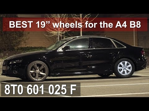 The best 19'' Wheels for the Audi A4 B8 - 8T0 601 025F