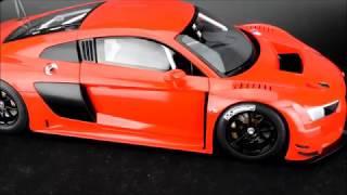 AUTOart Audi R8 FIA GT GT3 Presentation