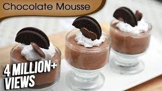 Chocolate Mousse Recipe - Easy To Make Chocolate Recipe - Homemade Desserts - Ruchi Bharani