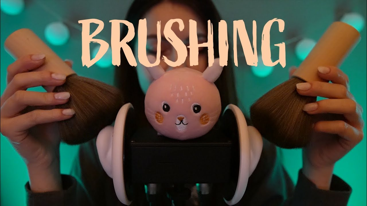ASMR | Brushing pour vos oreilles 😴 (no talking)