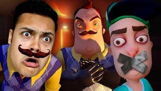 MY NEIGHBOR KIDNAPPED ME IN HIS BASEMENT (Hello Neighbor)