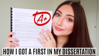 How to Write a First-Class Dissertation (in 5 weeks) | Tips & Tricks