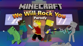"""We Will Find You"" Minecraft Parody Of We Will Rock You By Queen! (Music Video)"