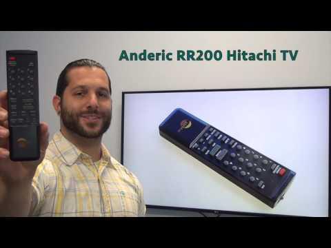 ANDERIC RR200 Hitachi TV Remote Control