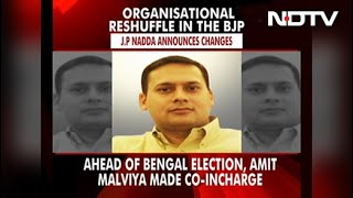 BJP Reshuffles States In-Charge Team, Sets Sight On Upcoming Elections - Download this Video in MP3, M4A, WEBM, MP4, 3GP