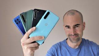 OnePlus Nord vs Motorola Moto G 5G Plus vs Realme X50 5G vs Oppo Find X2 Lite