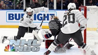 NHL All-Star Skills Competition 2020: Canada vs USA Elite Women's 3-on-3 Game | NBC Sports