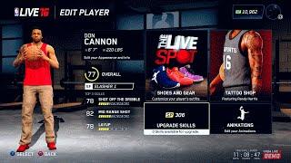 NBA LIVE 16 Rising Star Creation | Slasher & Shooter Small Forward