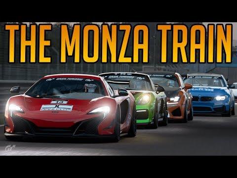 Gran Turismo Sport: Fighting Through the Train at Monza