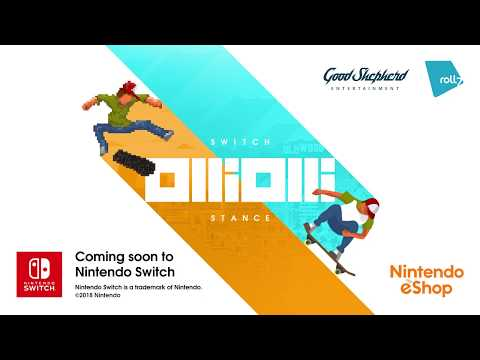 OlliOlli: Switch Stance  - PEGI Announcement Trailer thumbnail