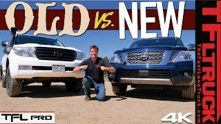 New Nissan Armada vs Toyota Land Cruiser: They Are More Similar Than Different!   TFL Pro Ep.7