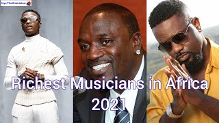Top 10 Richest Musicians In Africa 2021 & Net worth (Forbes)