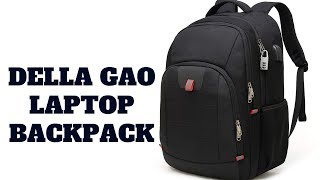 Della Gao 17-Inch Laptop Backpack Review!