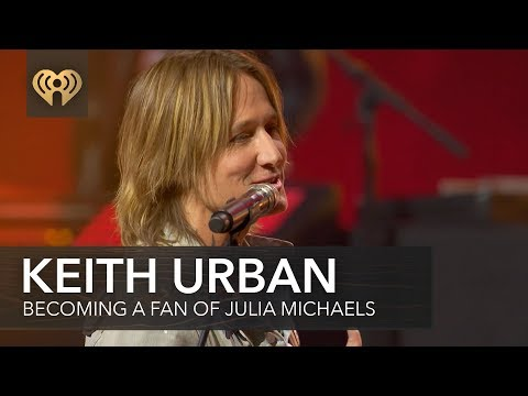 How Did Keith Urban Become A Fan Of Julia Michaels? | iHeartCountry Album Release Party