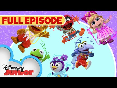 Download Sir Kermit the Brave / Animal Fly Airplane | Full Episode | Muppet Babies | Disney Junior HD Mp4 3GP Video and MP3