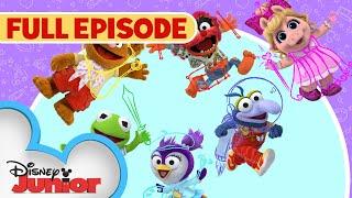 Sir Kermit the Brave 🐸 / Animal Fly Airplane ✈️ | Full Episode | Muppet Babies | Disney Junior