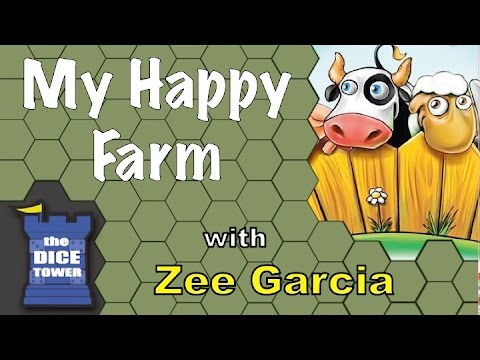 The Dice Tower reviews My Happy Farm