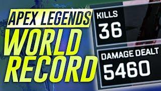 NEW APEX 36 SOLO-KILL WORLD RECORD (SOLO SQUAD)