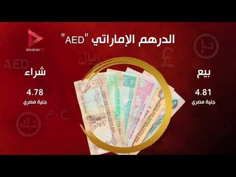 استقرار أسعار العملات الأجنبية والدولار الأمريكي بـ17.58 جنيها
