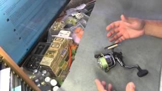 Катушка ryobi zauber - безынерционные катушки