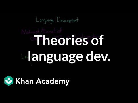 An analysis of theories of language development