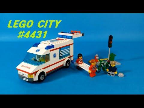 Vidéo LEGO City 4431 : L'ambulance