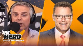 Howie Long talks Rodgers & Packers, Gruden & Carr's future with Raiders, Draft | NFL | THE HERD
