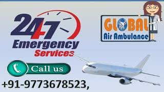 High Class Life Saver Air Ambulance Service in Bagdogra and Bhopal