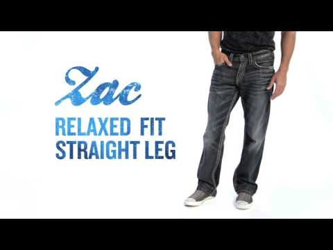Silver Jeans Co. // Zac - Relaxed Fit, Straight Leg