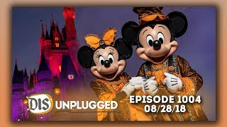 Walt Disney World + Mickey's Not-So-Scary Halloween Party Discussion | 08/28/18