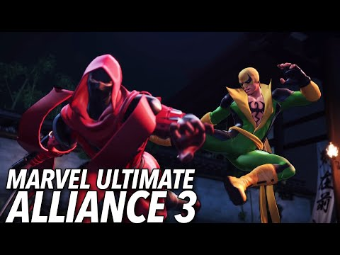 Marvel Ultimate Alliance 3 Brings The Satisfying Superhero Lineup