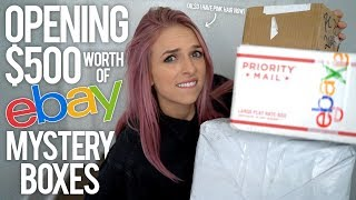 OPENING $500 EBAY MYSTERY BOXES - Video Youtube