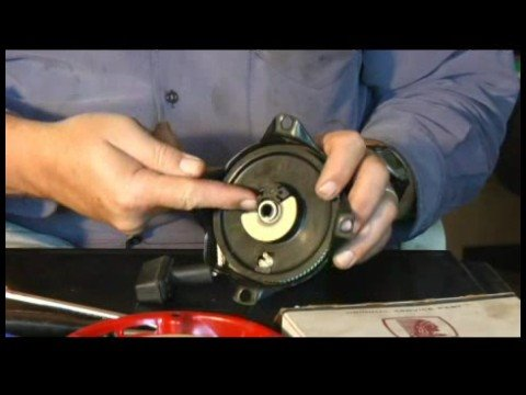 How to test a small engine starter Tecumseh starter used as example