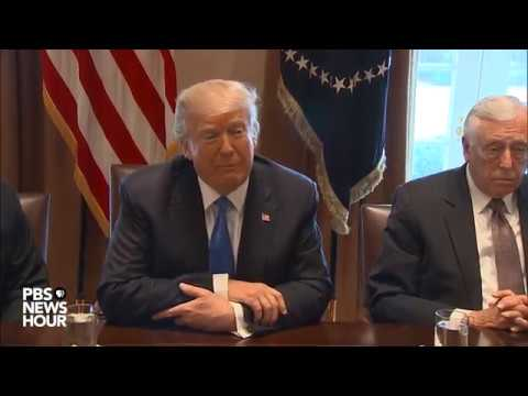 WATCH: President Trump holds bipartisan immigration meeting