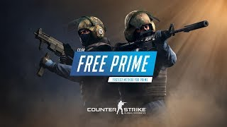 Fastest way of CS:GO Prime for Free | VAC Secured [Working 2020]
