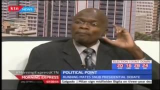 Political Point: Running mates snub debate