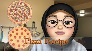Pizza recipe 🍕perfect recipe to cook with your children during self isolation ☺️🥰🧑🏽🦱👦🏻