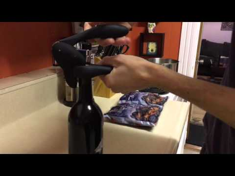 How to use the Rabbit Lever Corkscrew
