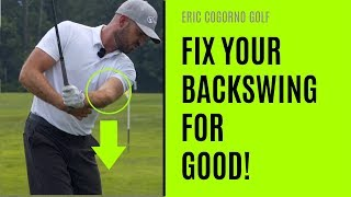GOLF: One Simple Trick To Fix Your Backswing For Good
