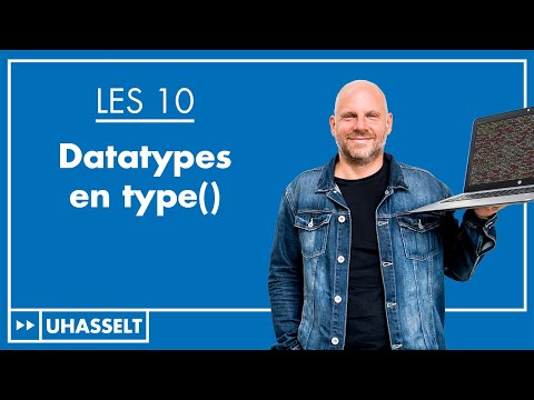 Datatypes en de functie type()