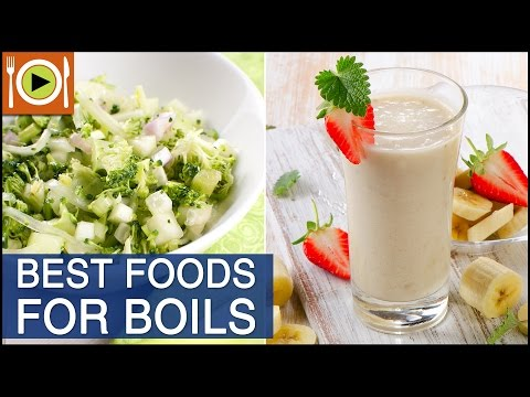 Video How to Get Rid of Boils | Foods & Healthy Recipes